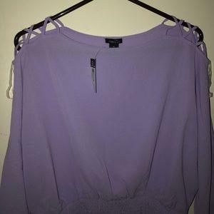 *NEVER WORN** Lavender Blouse